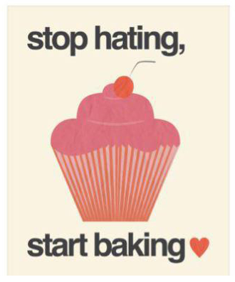 Start baking....