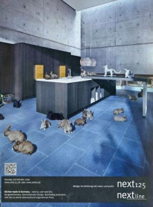 Next campaign with animals has its origins in 1978 | kitchen talk blog
