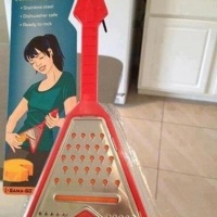 Guitar shape Cheese Grater