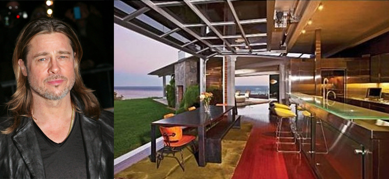 Celebrity Kitchens: Robert Redford, Brad Pitt, Justin Timberlake ...