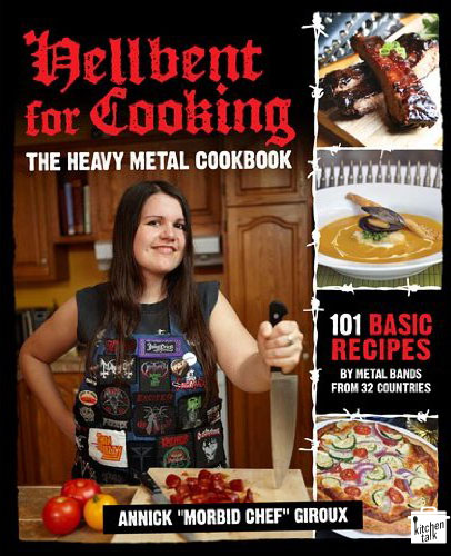 More weird cookbooks: Cat Lovers, Heavy Metal and Fashion...