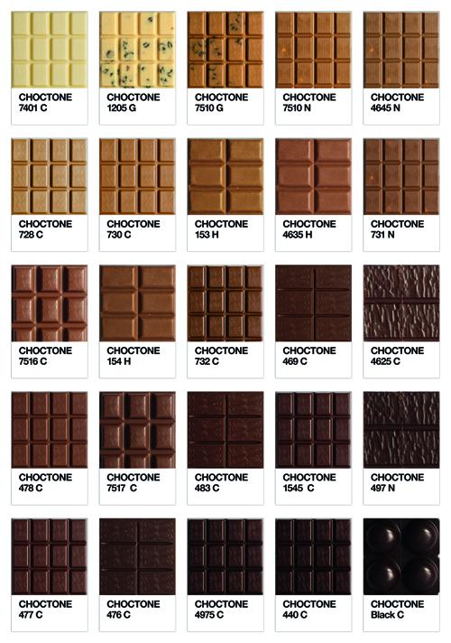 Chocolate + Pantone = Choctone
