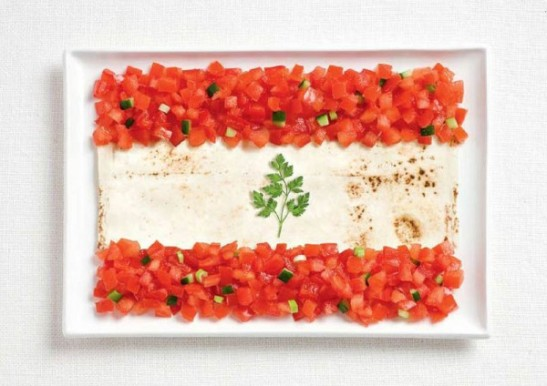 lebanon-flag-made-from-food-600x424
