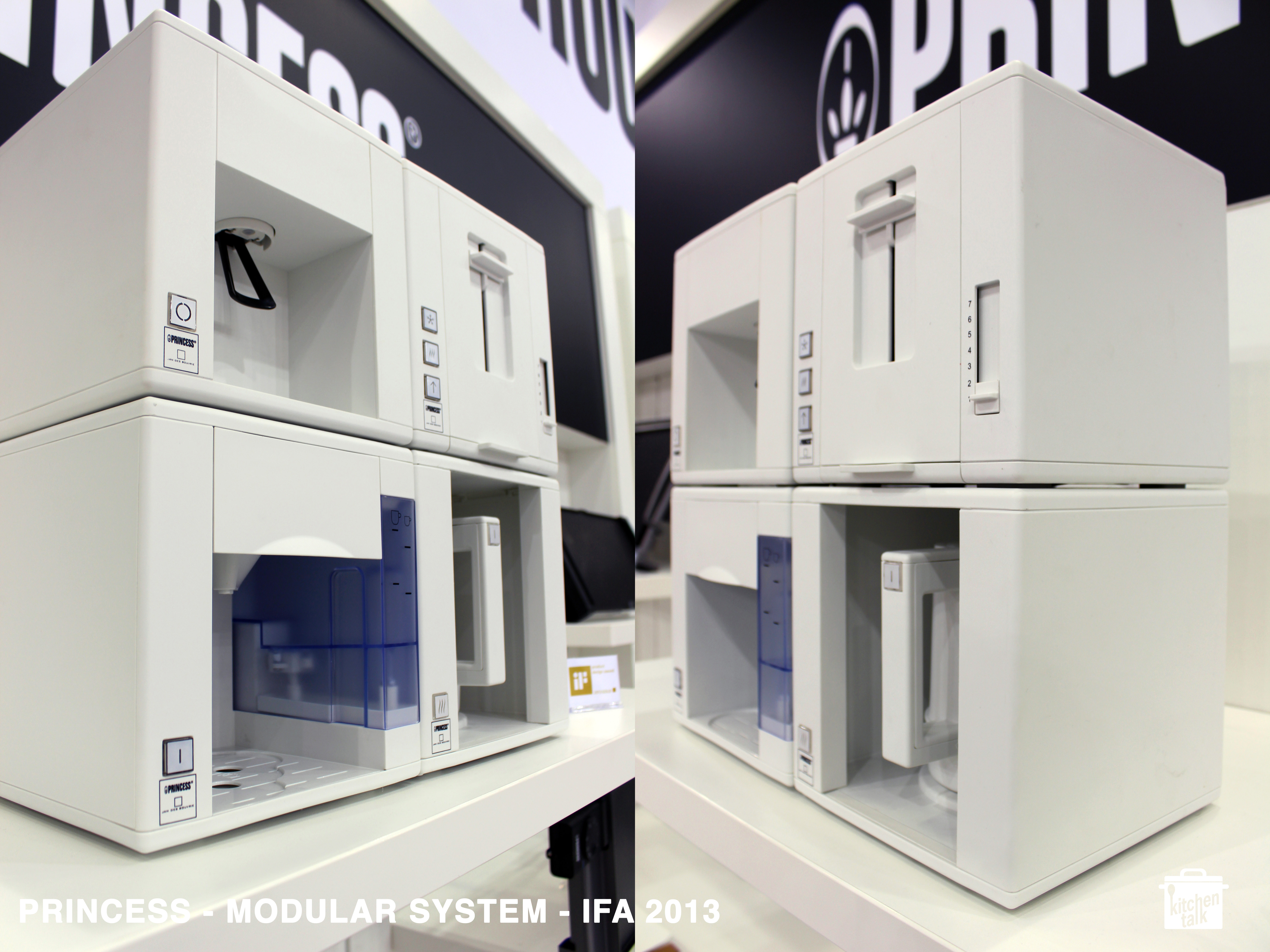 Compact Modules by Princess @ IFA 2013 | kitchen talk blog