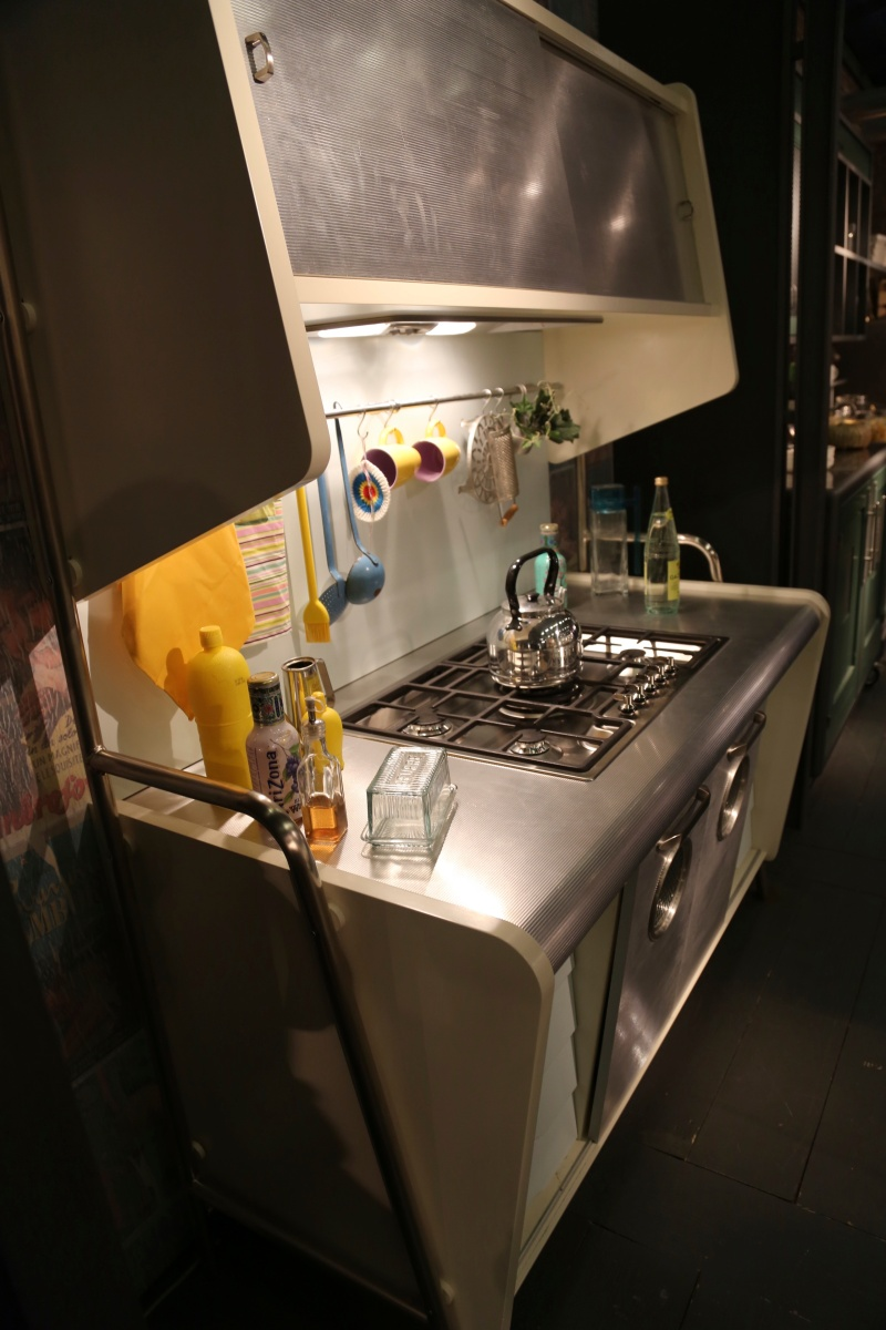 50ies Retro Kitchen by MARCHI Cucine @ Maison & Objet 2014