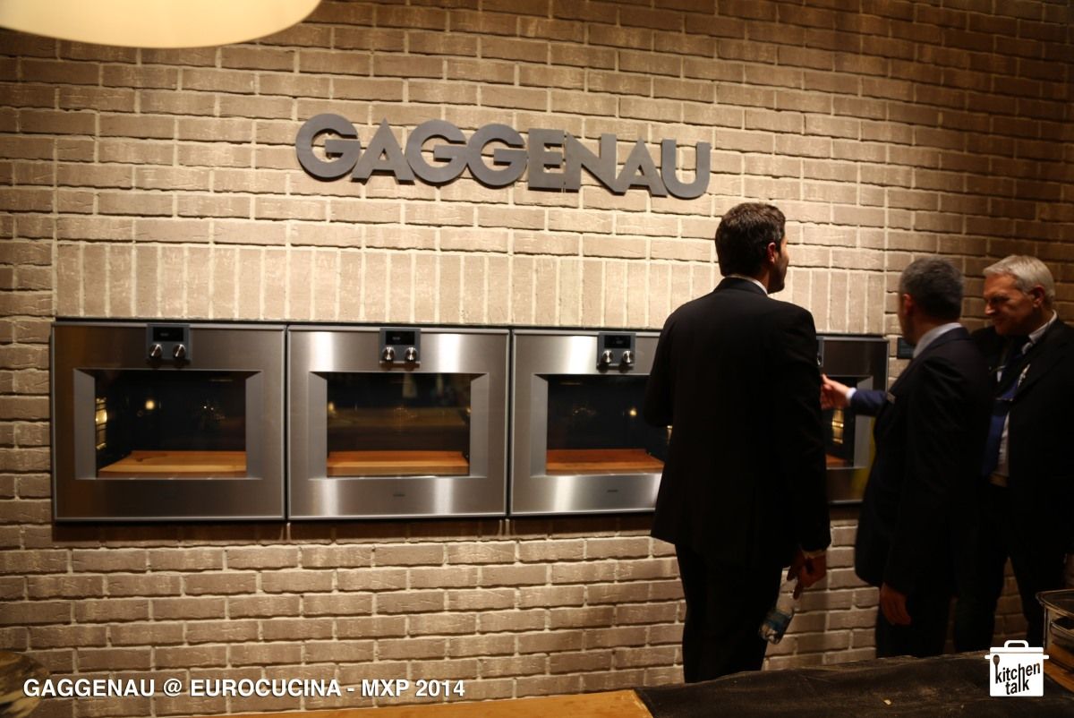 GAGGENAU @ EUROCUCINA 2014 - with Wine, Bread & Beans / Milano 2014