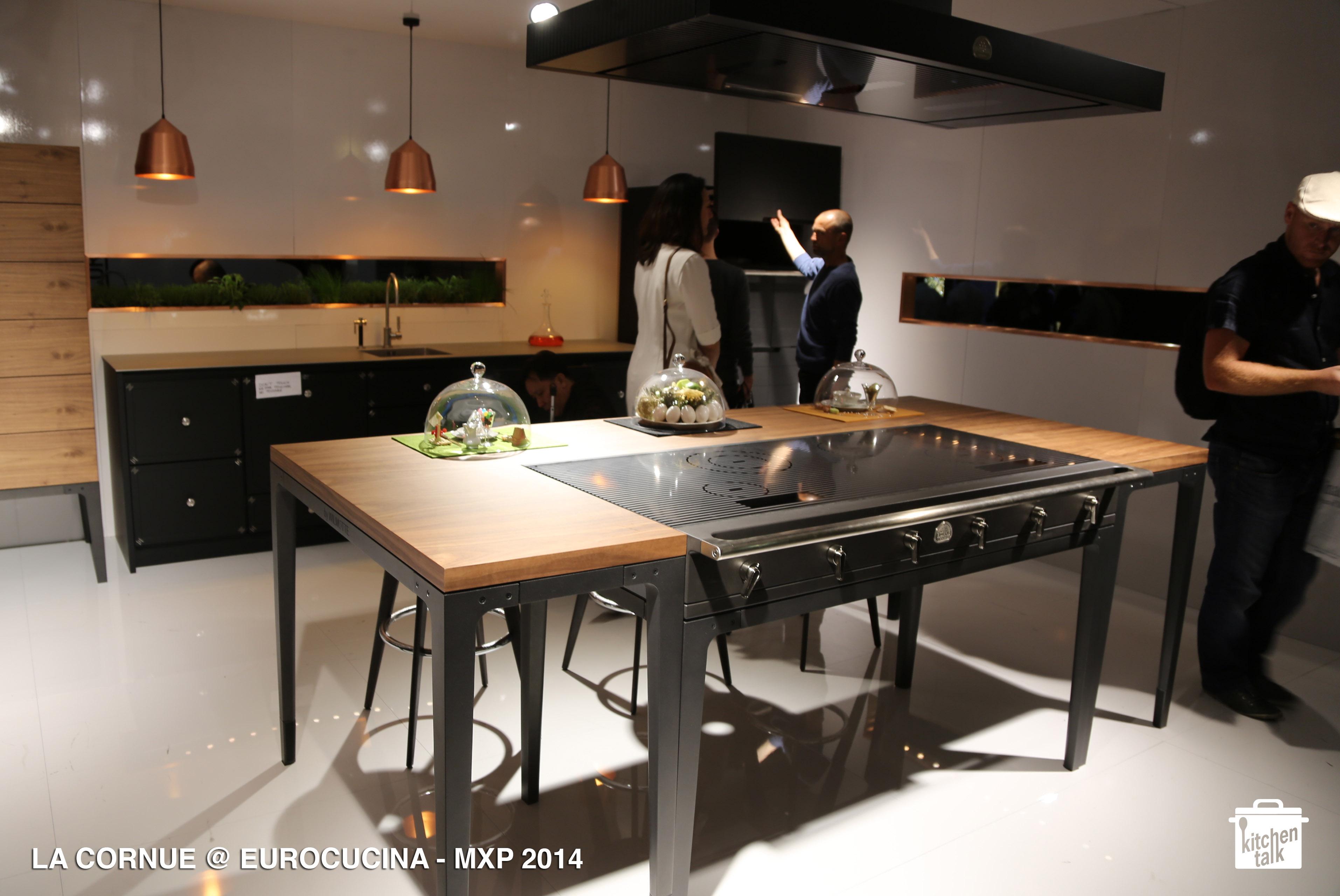 La cornue eurocucina 2014 milano 2014 kitchen talk blog for Piano de cuisine la cornue