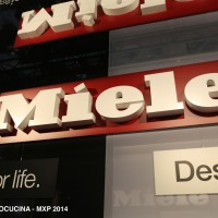 MIELE tries to boost individuality through extra handles @ EUROCUCINA 2014 / Milano 2014
