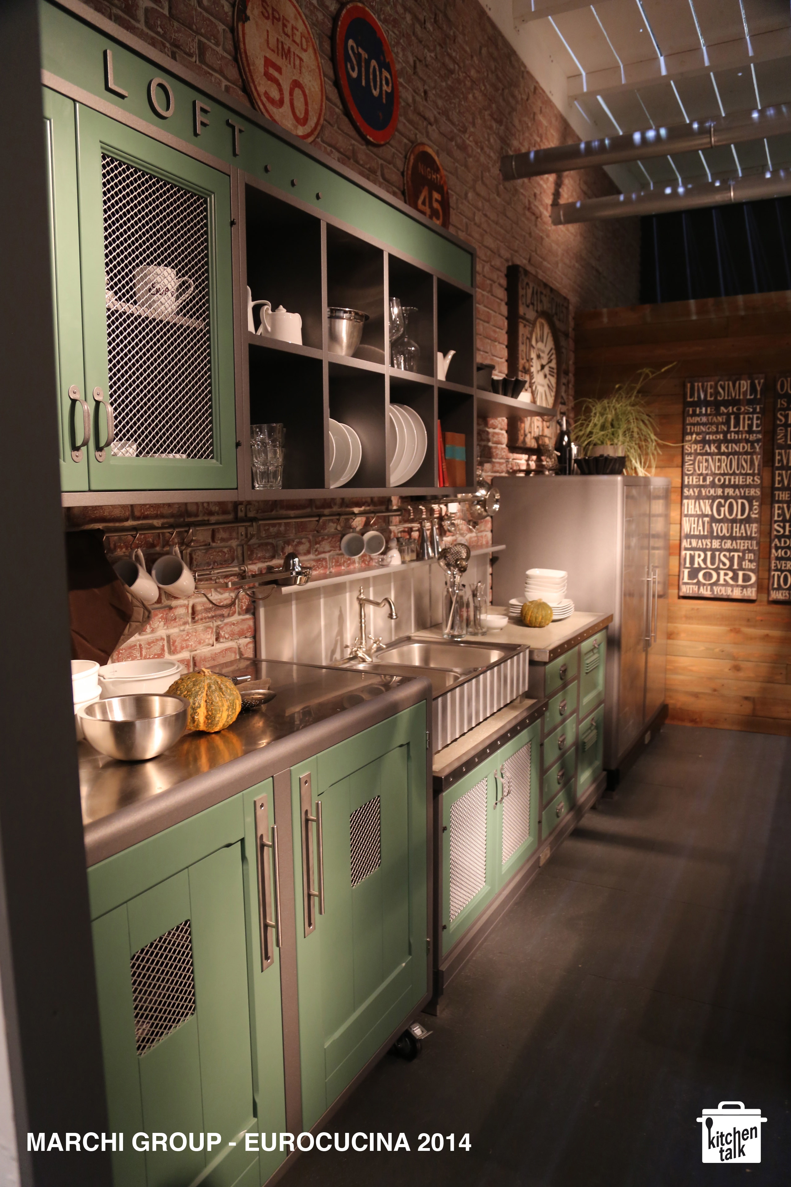 marchi cucine eurocucina milano 2014 kitchen talk blog. Black Bedroom Furniture Sets. Home Design Ideas